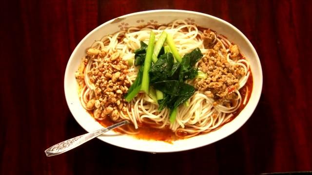 孤独のグルメ「楊2号店」の汁無し担々麺