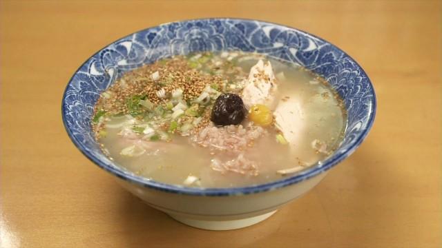 孤独のグルメ「なじみ亭」の参鶏湯ラーメン