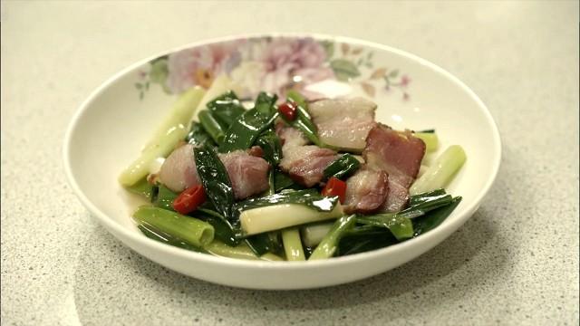 孤独のグルメ「全台小吃」の三星葱の肉炒め